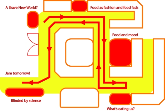 Food and Drink Lates map no bleed